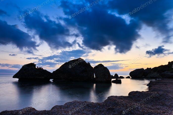 sunrise in Zakynthos island, Greece