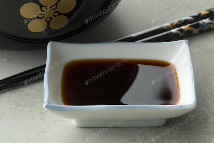 Traditionelle japanische Sojasauce