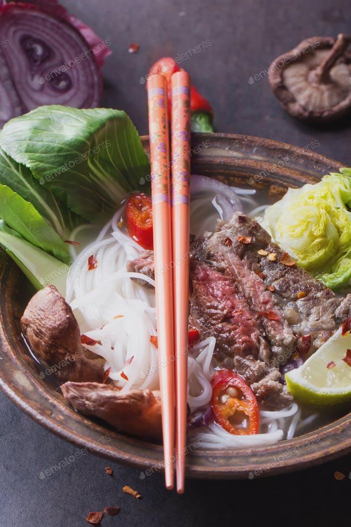 Oriental style Pho Bo