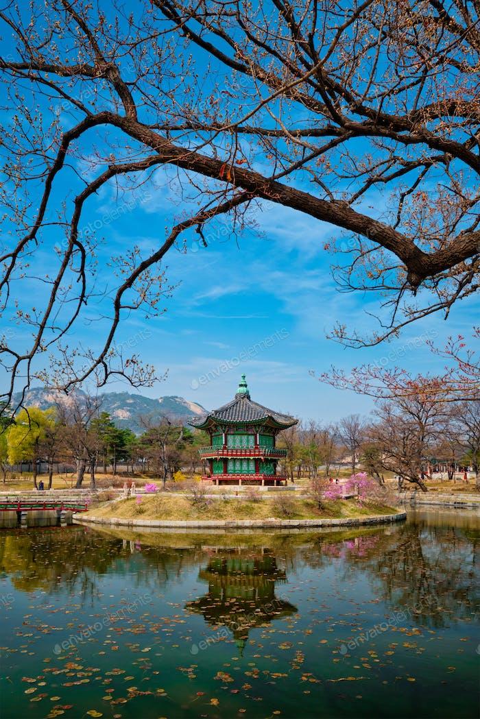 Thumbnail for Hyangwonjeong Pavilion, Gyeongbokgung Palace, Seoul, South Korea