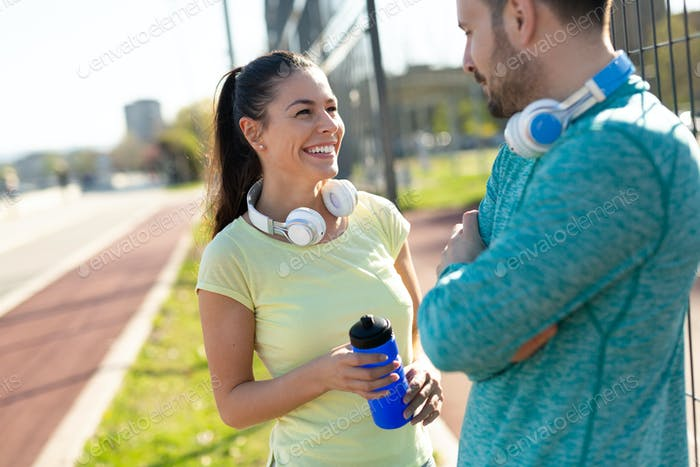 Correr y correr son recreaciones de fitness