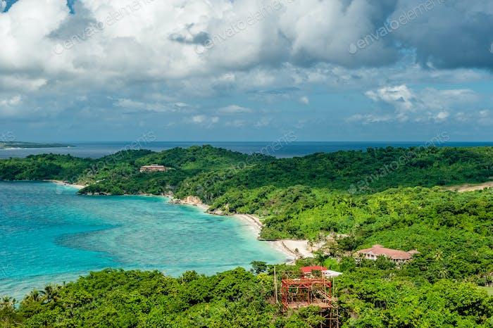 Beautiful landscape at Boracay island, Philippines