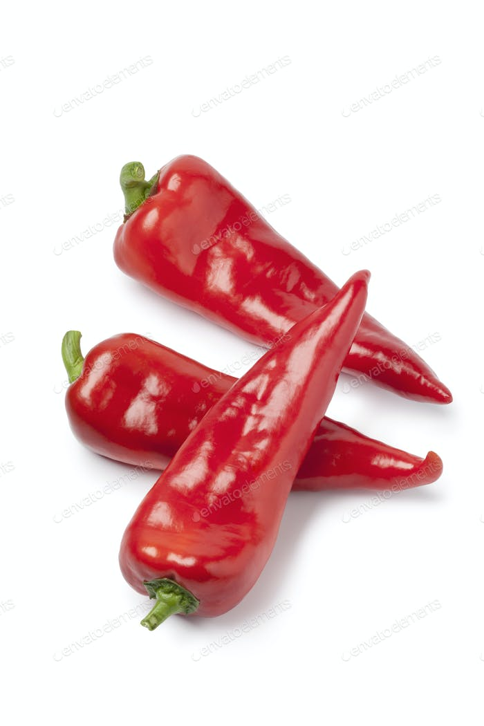 Thumbnail for Whole sweet red bell  peppers