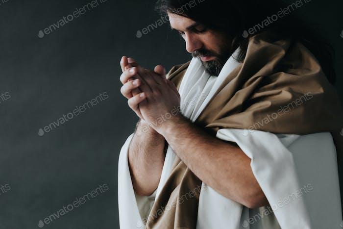 Jesus Christus in Gewändern