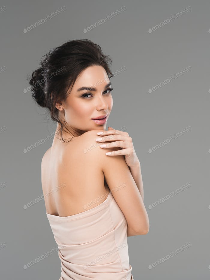 Asia woman elegant beautiful portrait