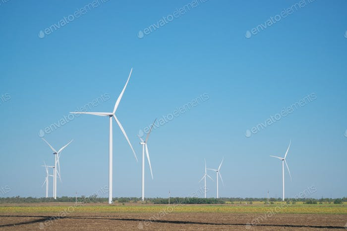 Windmills of electric power