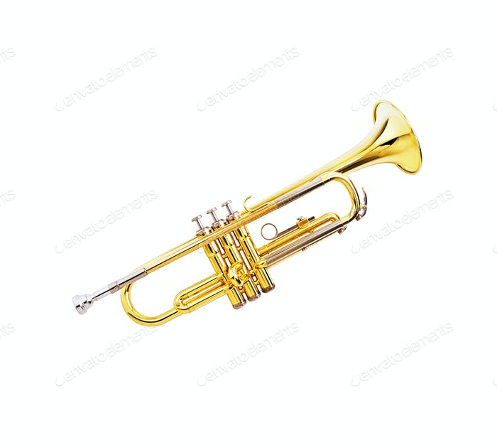 gold lacquer trumpet