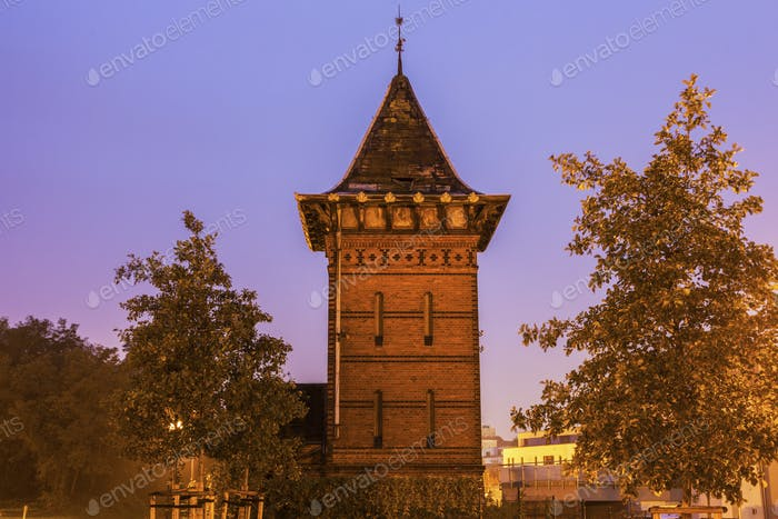 Old Tower in Magdeburg