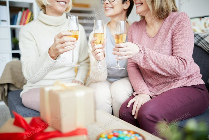 Women Celebrating Holiday