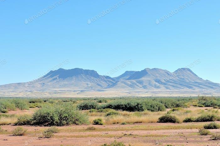 Brukkaros mountain