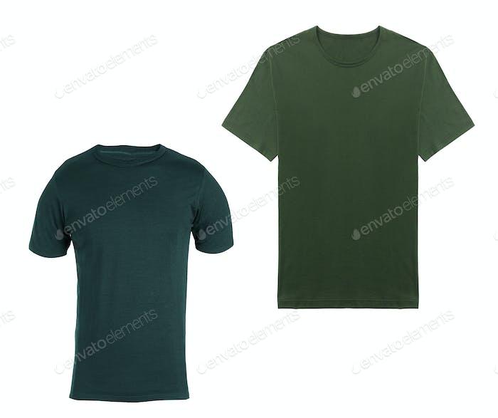 Shirts isolated on white