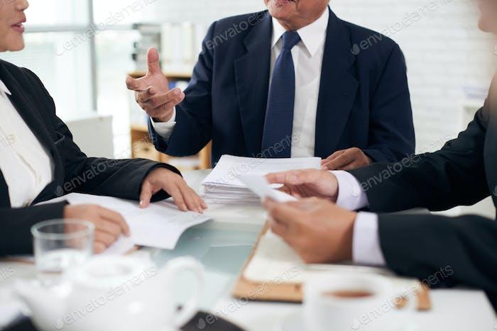 Team of attorneys