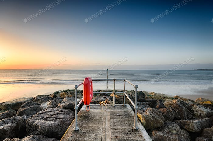 Sandbanks Jetty