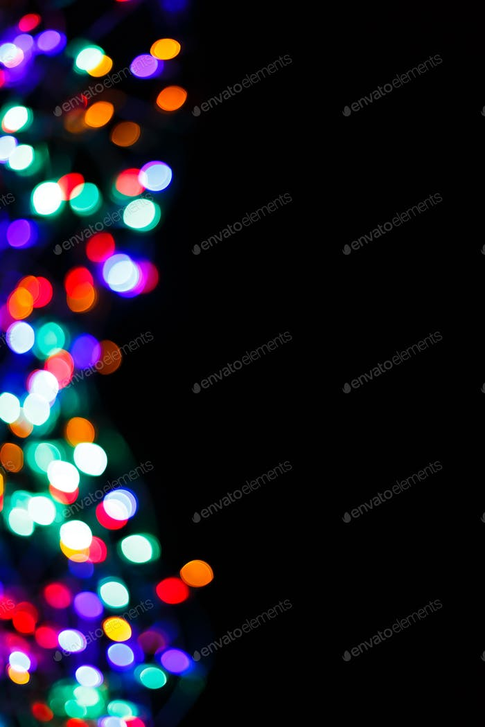 Color light blurred bokeh background, unfocused.