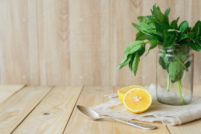 frische hausgemachte Limonade