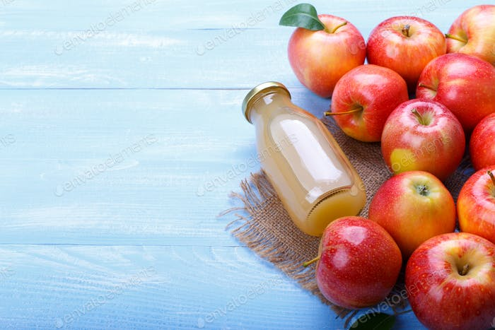 Hausgemachter Apfelsaft