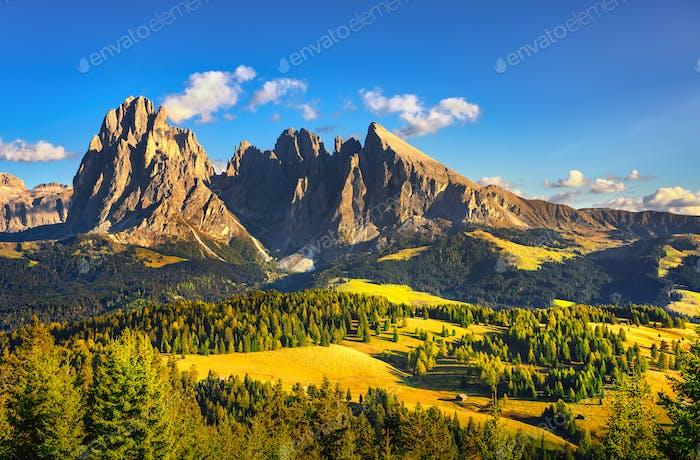 Seiser Alm und Langkofel, Dolomiten A