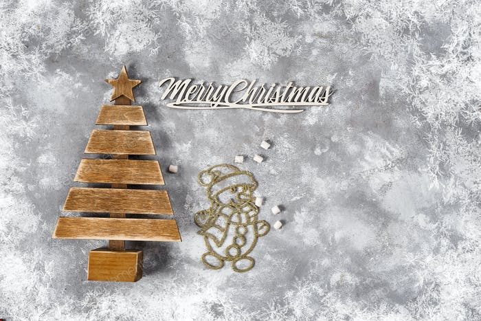 New year or Christmas background.