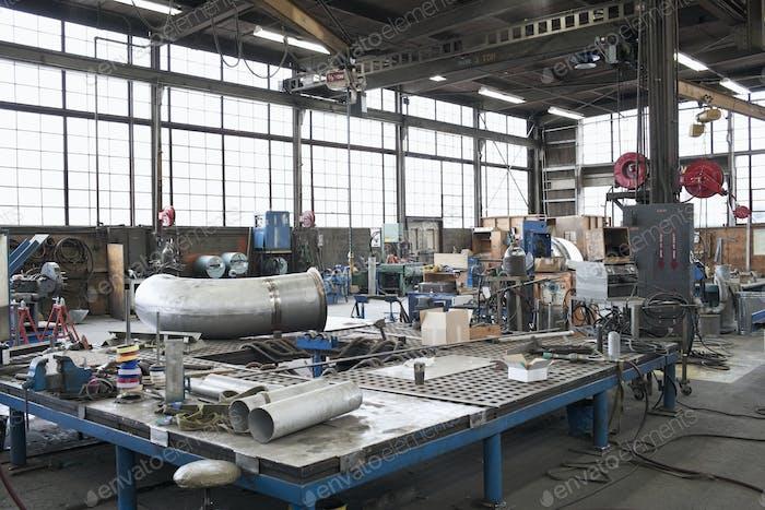 Ausrüstung in der Maschinenwerkstatt