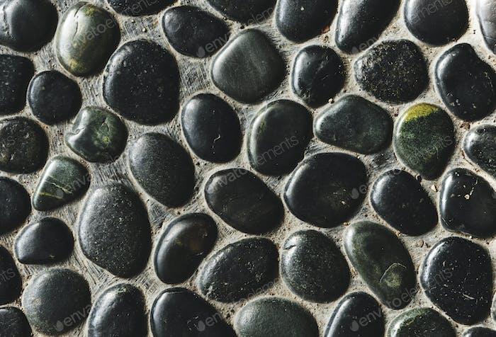 Smooth rock surface pattern