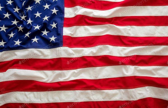 Bandera de Estados Unidos, símbolo de la firma de Estados Unidos de América textura de fondo.