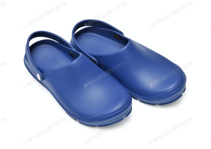 Clogs Dark Blue