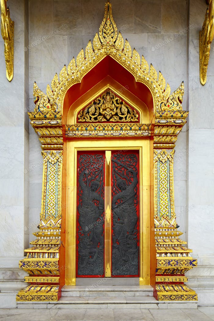 Thailand Tempel Eingang