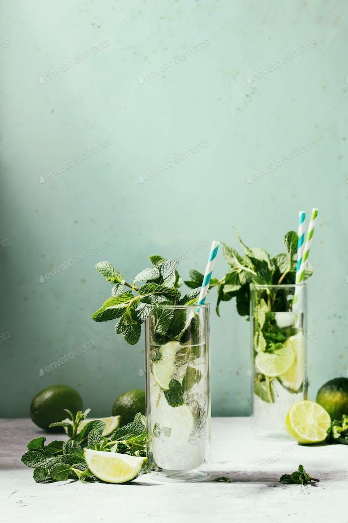 Klassischer Mojito Cocktail