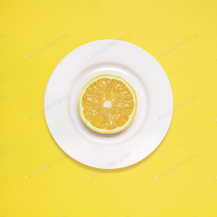 Lemon for breakfast.