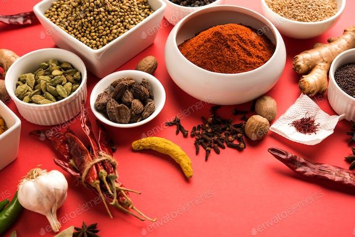 Garam Masala/Indische Gewürze