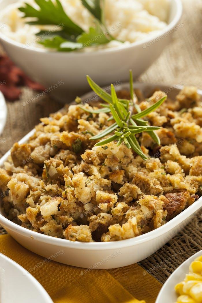 Homemade Thanksgiving Stuffing