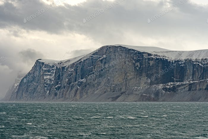 Dramatic Cliffs in the High Arctic