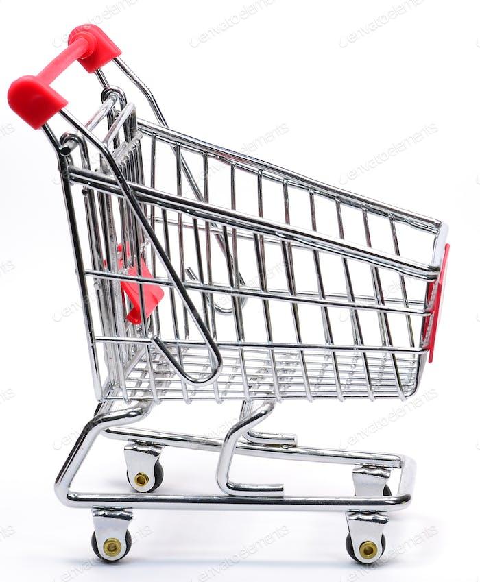 A Shopping Cart Trolley