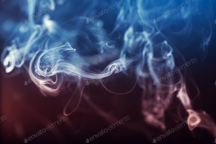 Abstract colorgul Smoke