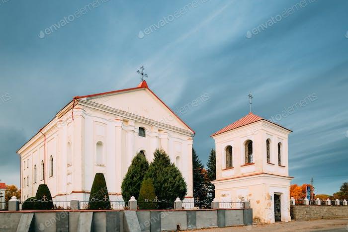 Udelo, Vitebsk Region, Belarus. Catholic Church Of Immaculate Co