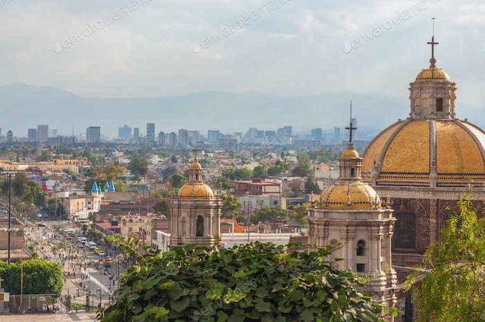 Alte Basilika von Guadalupe