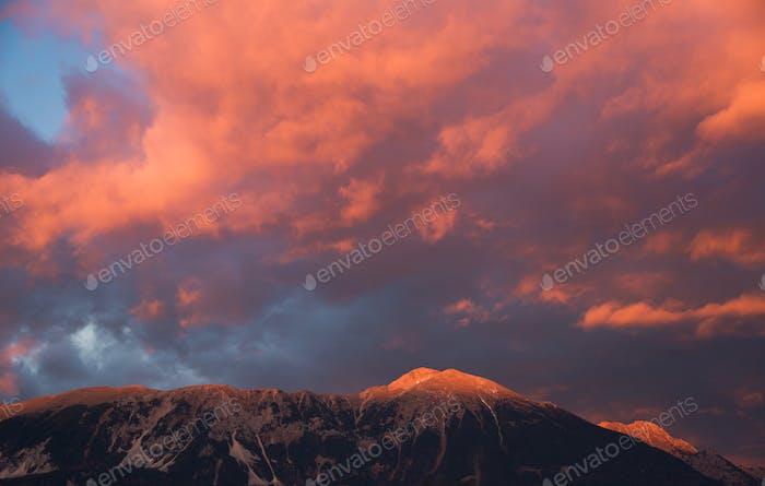 Vivid sunset