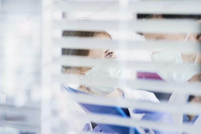 Ärzte während einer Coronavirus-Epidemie
