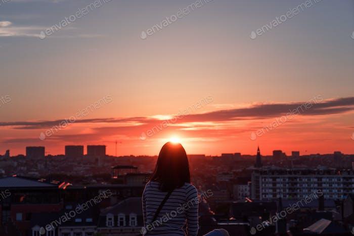Sunset Tiara