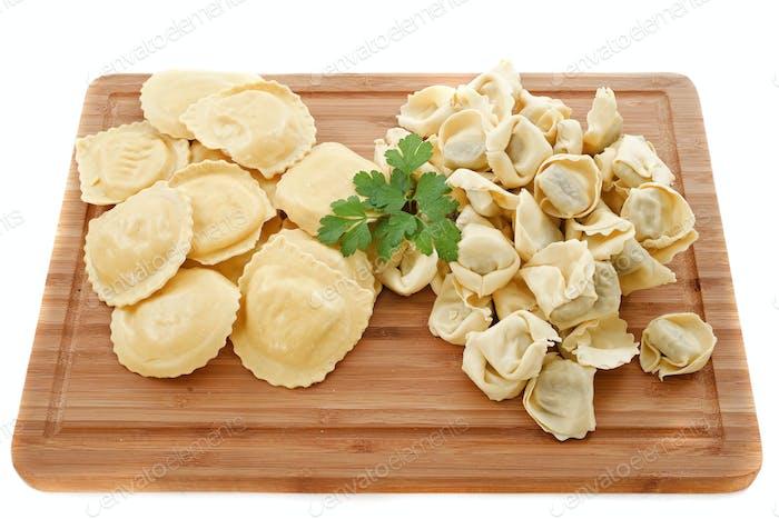 Ravioli und Tortellini