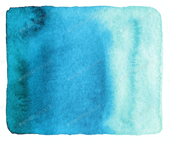 Abstract watercolor painted background. Grunge wet paper templat