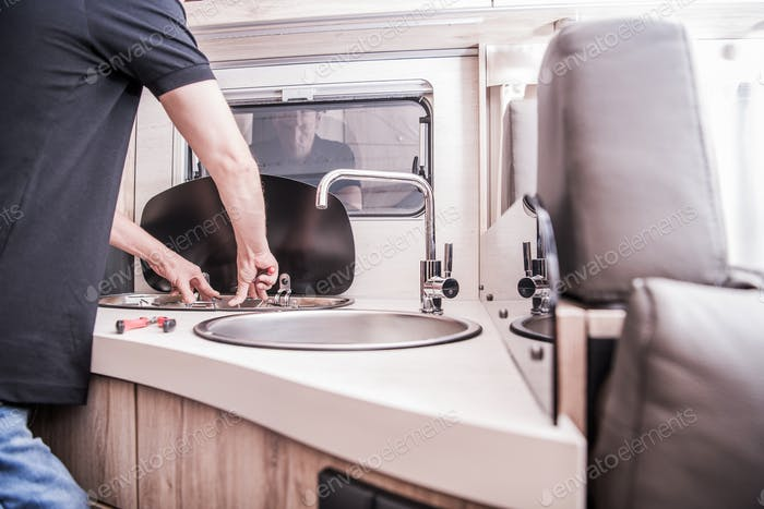 RV Motorhome Stove Repair