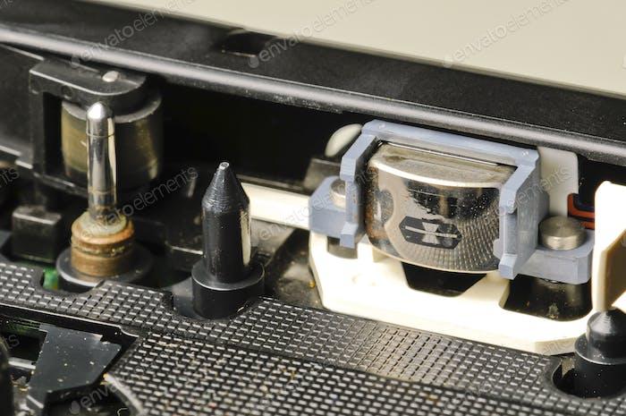 Tape Recorder Detail