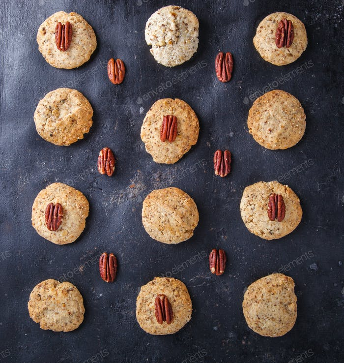 Cookies with a Pecan