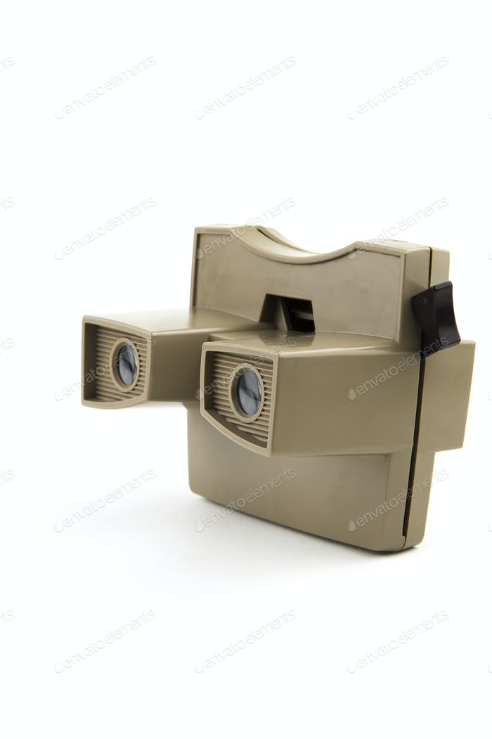 vintage stereoscopic viewer