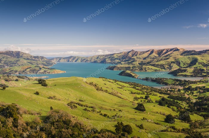 New Zealand pristine scenery