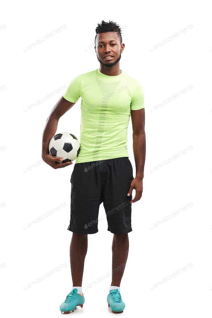 Handsome Nigerian Soccer Player