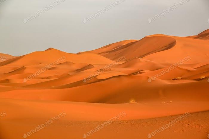 Atemberaubende Sanddünen von Merzouga