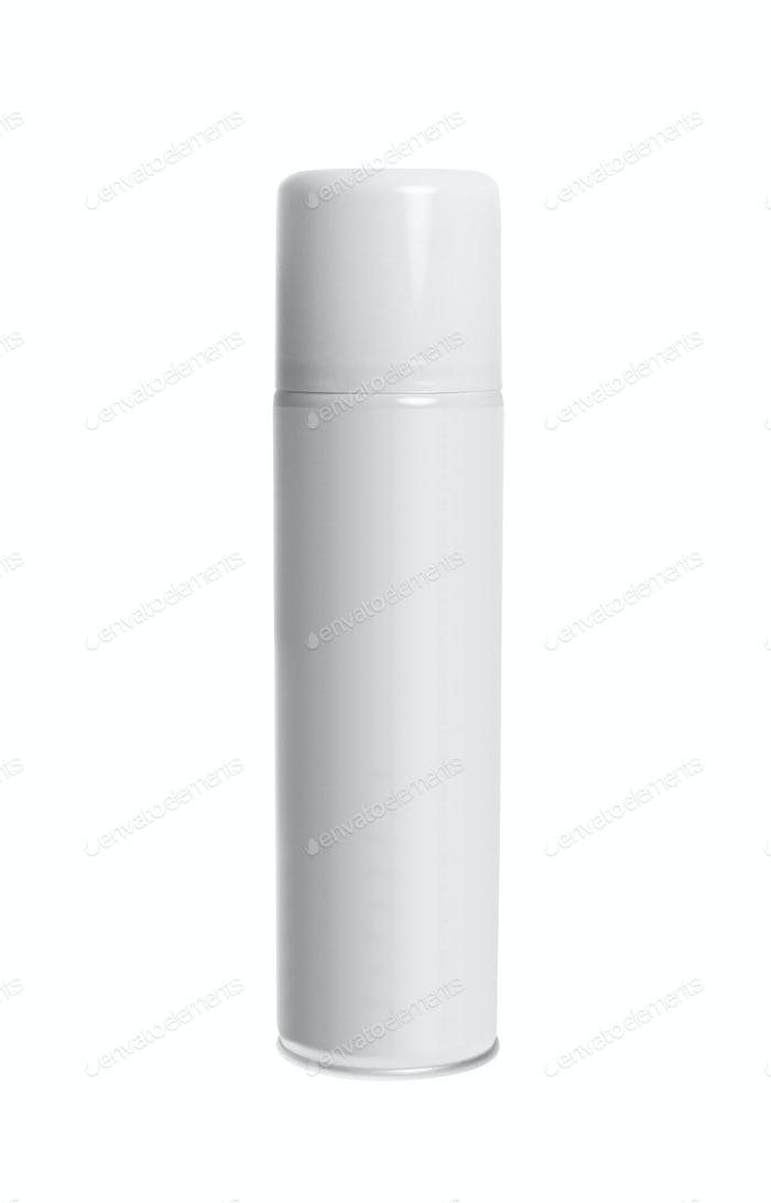 spray can isolated on white background