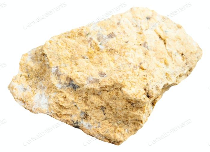 piece of narsarsukite stone